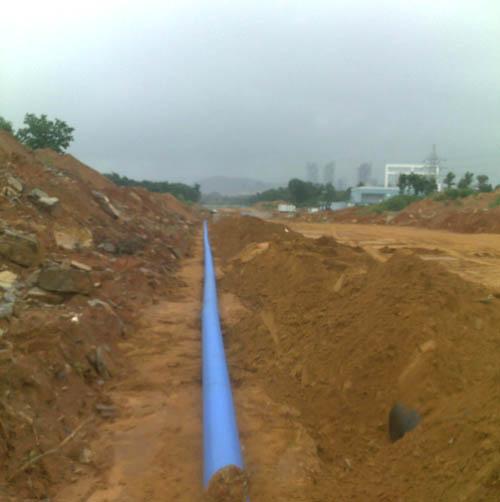 长兴岛给水管线